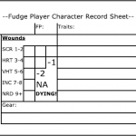 My Fudge Index Card Character Sheet