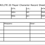 My MicroLite 20 Index Card Character Sheet